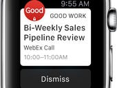 Good Technology joins Apple Watch app deluge with wearable EMM