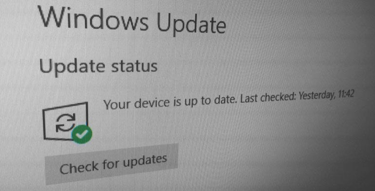 Stop disabling automatic updates, people!