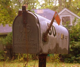 This old mail box will still be spilled with spam even with blocking port 25
