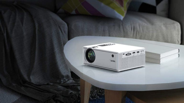 Hands on with the Yaber Y61 projector an ultra-portable 5500 lumens home theatre projector zdnet