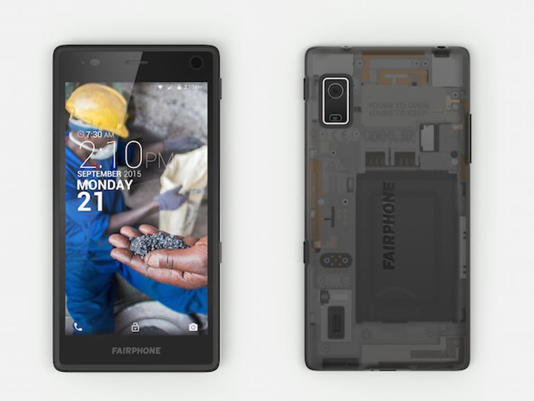 The second generation Fairphone.