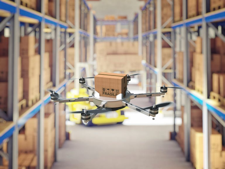 Walmart warehouse drones to start work soon