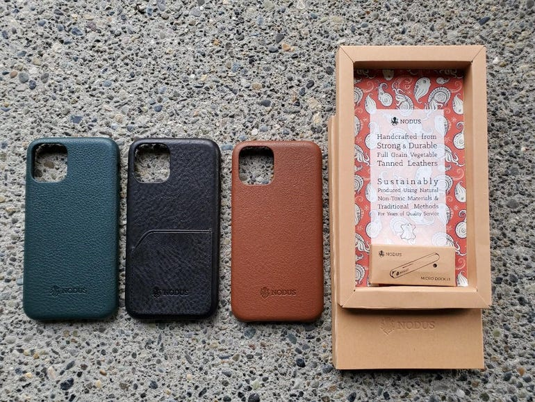 Nodus Shell Case II options for the iPhone 11 Pro