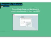 Brandcast for Salesforce, first take: Create customer-focused microsites