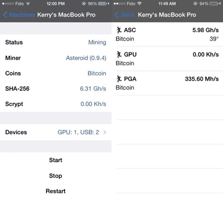 Asteroid - MobileMiner for iOS - Jason O'Grady
