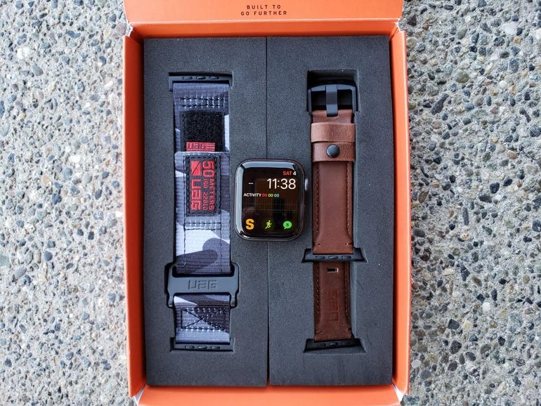 Two new UAG Apple Watch bands