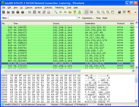 If you have the tools, WireShark, and know what you're doing it's easy to see what people are doing on open Wi-Fi networks.