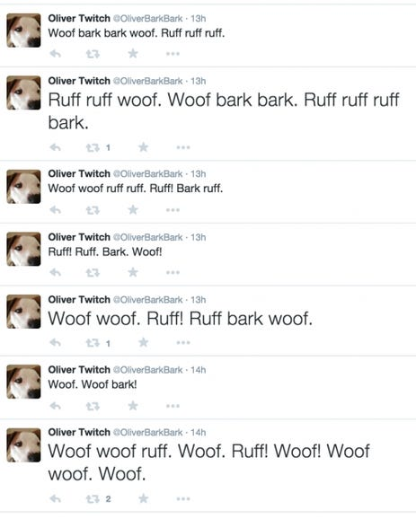 Twitter for dogs