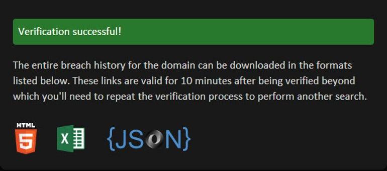 haveibeenpwned.domain-verification-successful