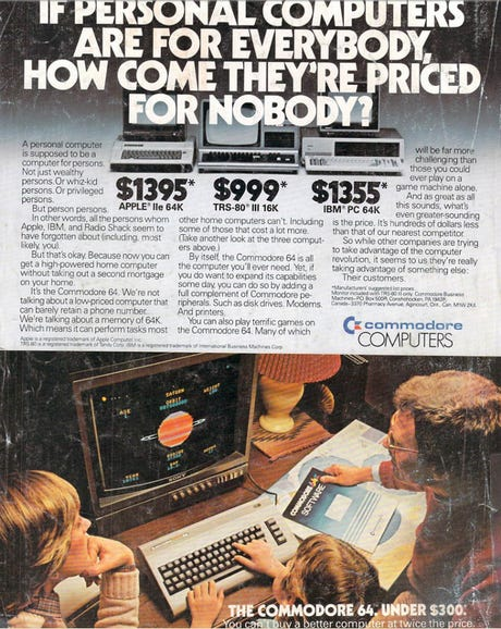 The once, and future, Commodore 64