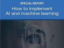 Special Report: How to Implement AI and Machine Learning