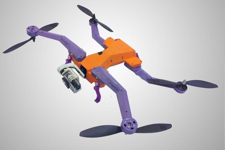 AirDog auto-follow drone for GoPro smashes Kickstarter targets ZDNet