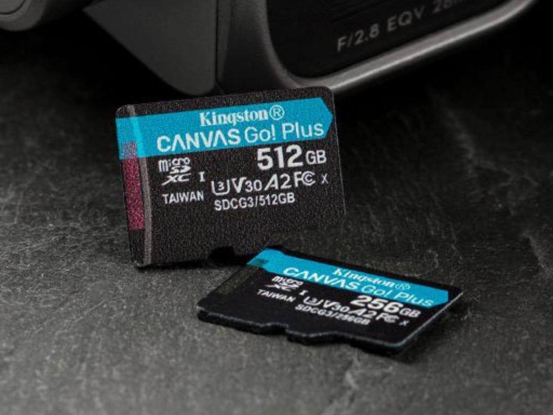 Canvas Go! Plus microSD card