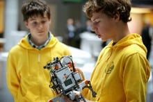 Google funds Lego robots program for students in Germany