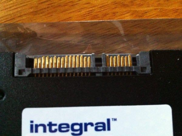Closeup of connectors