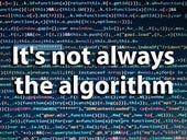 It's not the algorithm! Check that your test set labels are correct