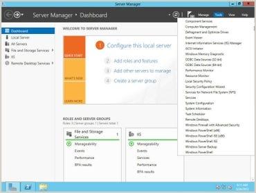 Windows Server 8 Server Manager