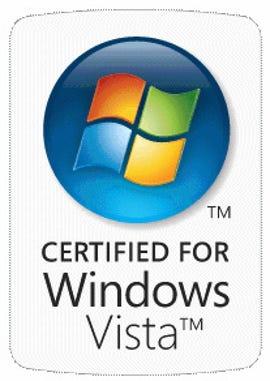 Certified for Windows Vista