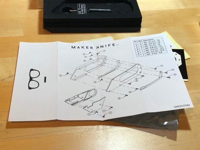 The Maker Knife v1.1