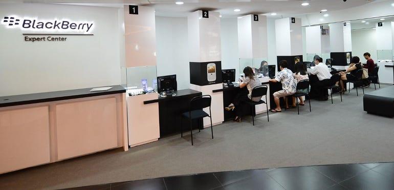 BlackBerry Expert Center frontage