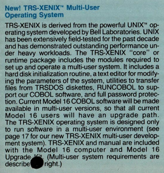 Linux is 8 years away, but you could still run Unix on PCs