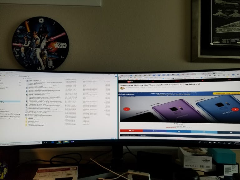 One HDMI input, two screens