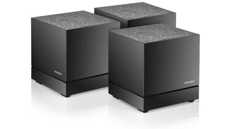 Hands on with the Rock Space home mesh system for anyone with poor Wi-Fi coverage indoors zdnet