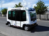 Don't try talking to the driver: In Nokia city Espoo, robot buses now cruise the streets