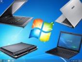 Photos: new Windows 7 notebooks