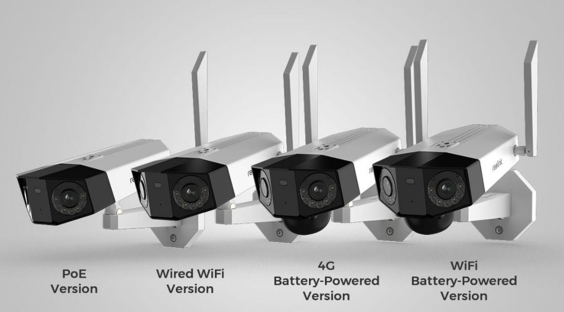Reolink Duo security camera review battery/solar powered camera that monitors two directions at once zdnet