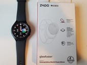 ZAGG InvisibleShield for Samsung Galaxy Watch 4: Protect the display from bumps and scratches