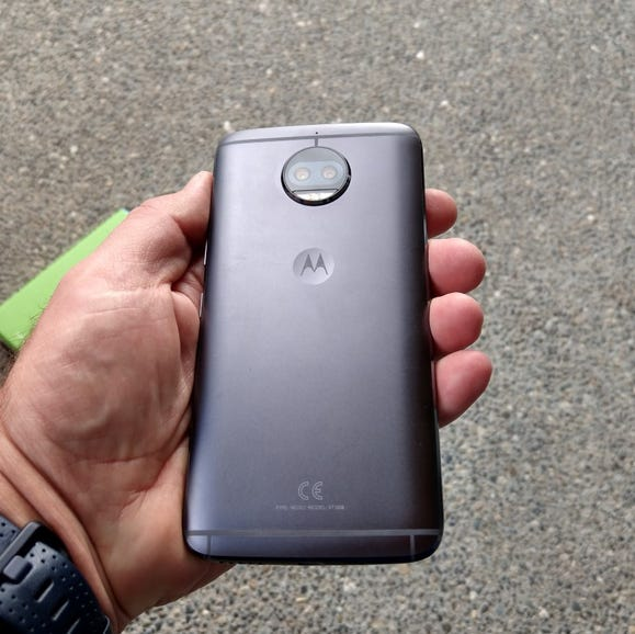 Back of the Moto G5S Plus