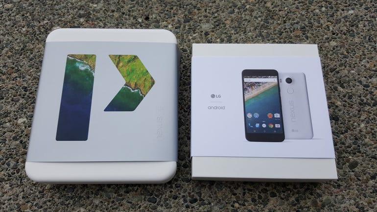 Nexus 6P and 5X retail box