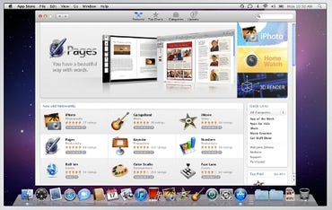 Mac Apple store screen