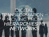 Digital transformation -- moving from hierarchies to networks