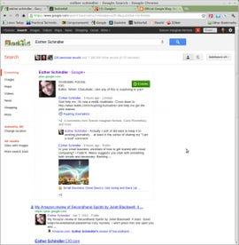 Google Search Plus for a friend