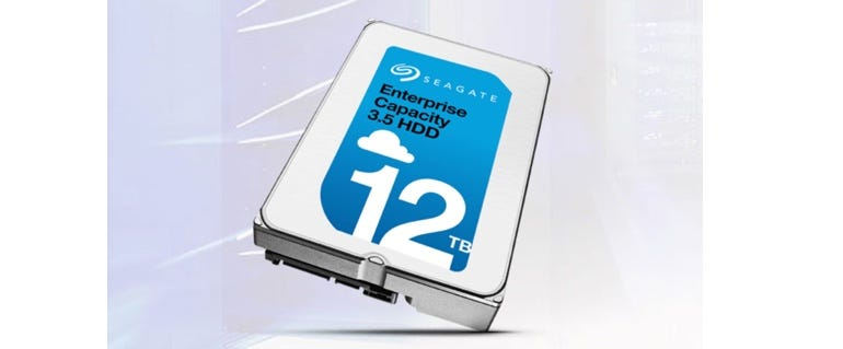 Seagate unveils 12TB Enterprise Capacity hard drive