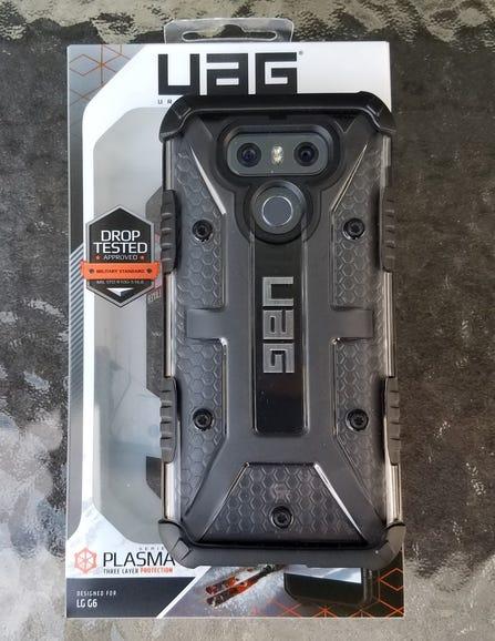 UAG Plasma series for LG G6