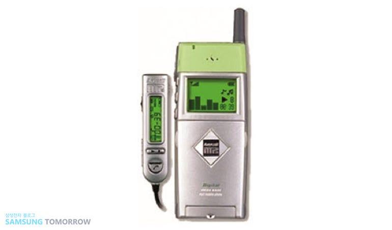 An MP3 player phone