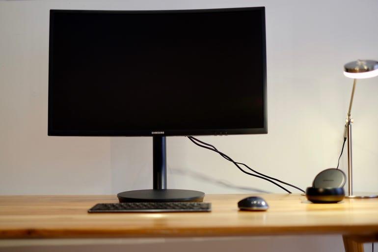 The Galaxy S8 as a desktop computer