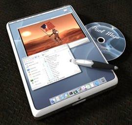 Apple tablet concept
