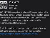 iOS 14.7.1 is out