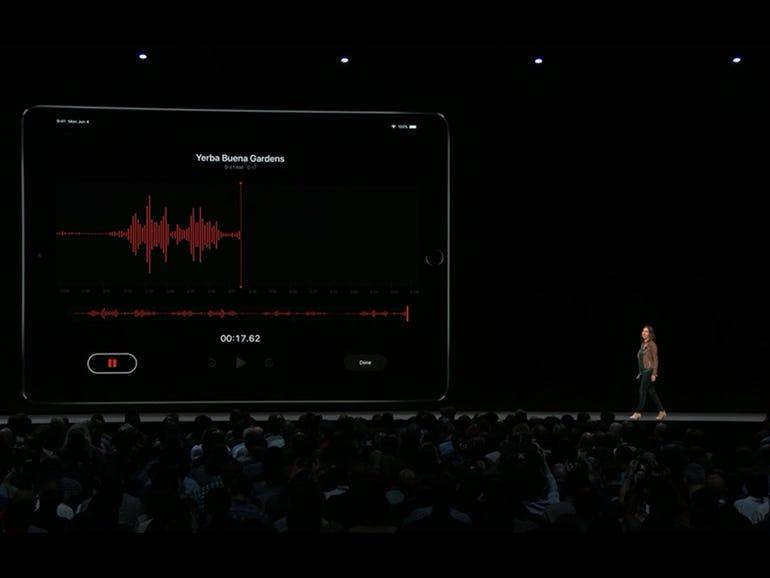 iOS 12: Voice Memos coming to iPad and Mac