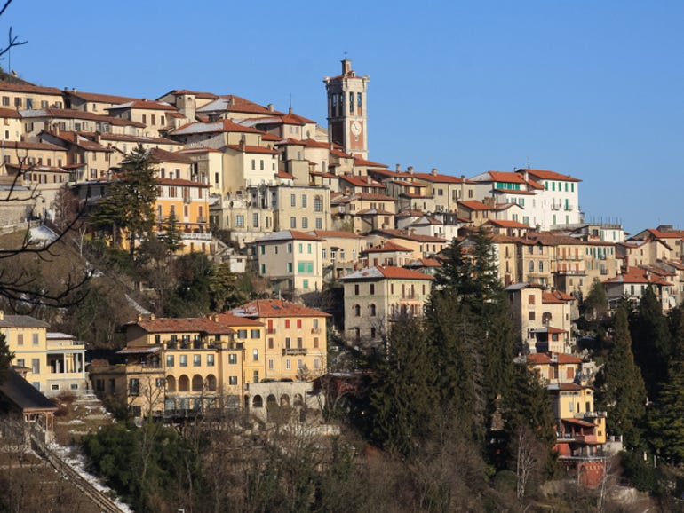 Sacro Monte di Varese, the symbol of the city of Varese