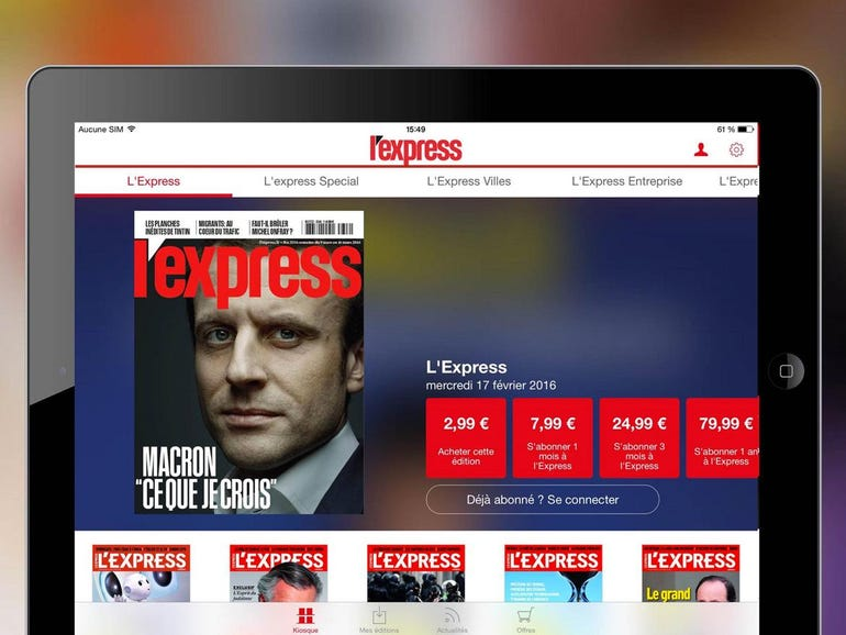 French news site L'Express exposed reader data online