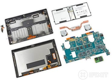 Teardown of the Surface Pro 2