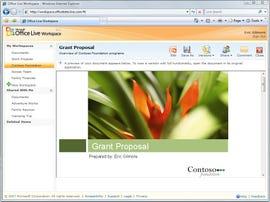 Get a sneak peek of MicrosoftÂ's Office Live Workspace service