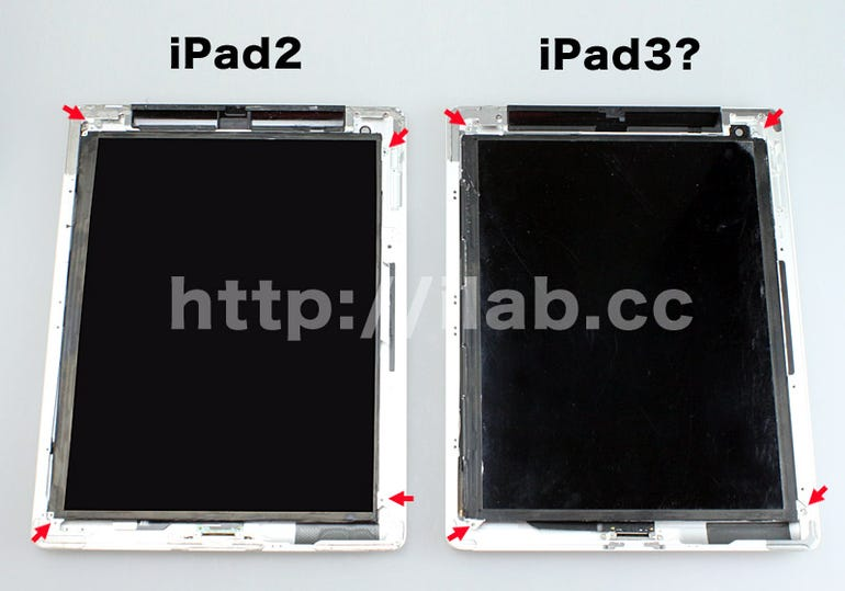 Could this be the Retina display in the next iPad? Jason O'Grady