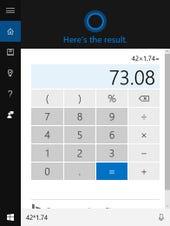 Windows 10 tip Cortana secret calculator