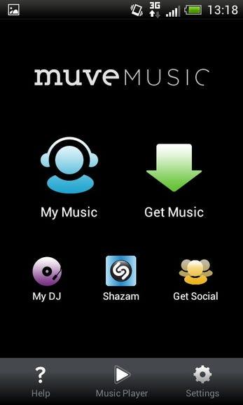 Muve Music mobile client